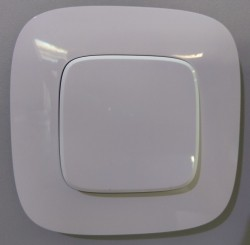 Одноклавишный выключатель Valena allure 752701 белый