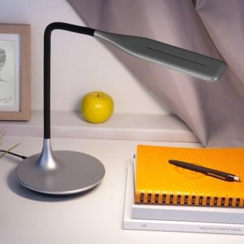 Настольный светодиодный светильник 80422/1 серебристый 80422/1