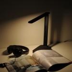 Настольный светодиодный светильник Pele черный TL80960