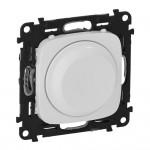 Светорегулятор (диммер) поворотный 5-300 Вт Valena allure 752760 белый