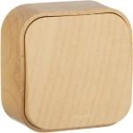 Кнопочный выключатель наружного монтажа под дерево Legrand Quteo 782265