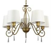 Подвесной светильник  (люстра) Arte lamp Carolina A9239LM-5BR
