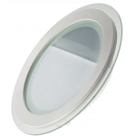 Светодиодный светильник круглый со стеклом С-302 12W 3000К