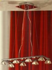 Светильник подвесной (люстра) Lussole Montagano LSC-6103-08