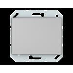 Выключатель одноклавишный VILMA XP500 Classic металлик