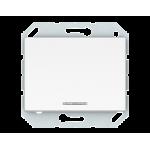 Выключатель одноклавишный с подсветкой Vilma Classic XP500 белый