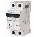 Автоматический выключатель EATON-PL4 25A, двухполюсный