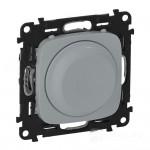 Светорегулятор (диммер) поворотный 5-300 Вт Valena allure алюминий